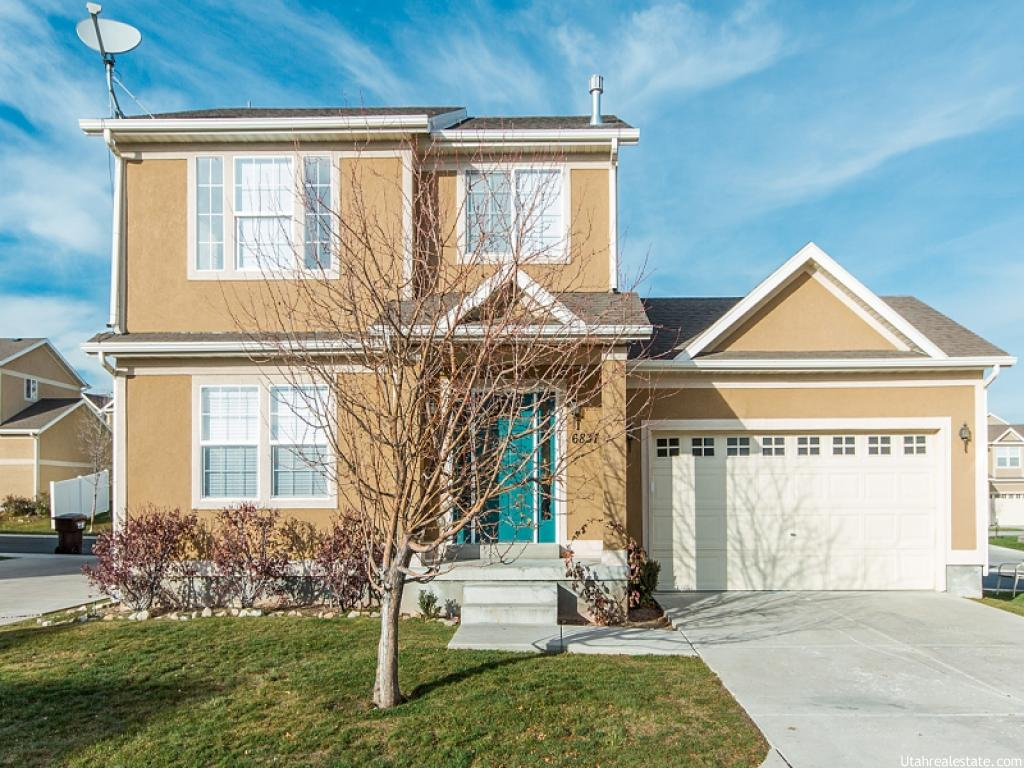 6837 W BOTTLEBRUSH LN, West Jordan UT 84084