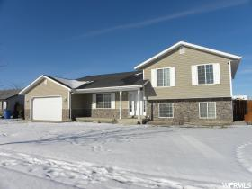 Home for sale at 1551 W 3045 South, Nibley, UT  84321. Listed at 199000 with 4 bedrooms, 3 bathrooms and 1,760 total square feet