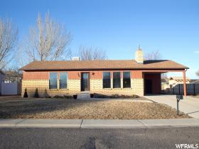 Home for sale at 590 W 1050 South, Richfield, UT  84701. Listed at 124900 with 2 bedrooms, 1 bathrooms and 1,176 total square feet