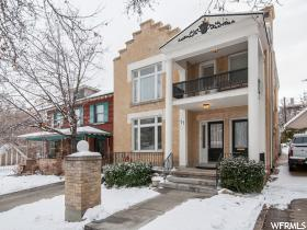 Home for sale at 77 N C St, Salt Lake City, UT  84103. Listed at 595000 with 4 bedrooms, 4 bathrooms and 3,294 total square feet