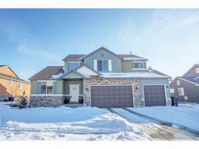 Home for sale at 256 E Salem Park Circle Cir, Salem, UT 84653. Listed at 419900 with 5 bedrooms, 4 bathrooms and 4,157 total square feet