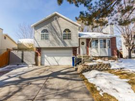 Home for sale at 6306 S Dry Wind Dr, Taylorsville, UT 84129. Listed at 222800 with 4 bedrooms, 2 bathrooms and 1,561 total square feet