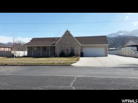 Home for sale at 645 S 100 West, Nephi, UT  84648. Listed at 399000 with 5 bedrooms, 3 bathrooms and 3,296 total square feet