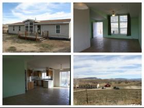 Home for sale at 7633 E Brush Creek Rd, Jensen, UT  84035. Listed at 200000 with 4 bedrooms, 2 bathrooms and 1,458 total square feet