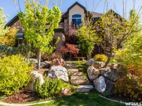 Maison unifamiliale pour l Vente à 1542 E HIDDEN SPRINGS PKWY Fruit Heights, Utah 84037 États-Unis