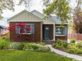 Home for sale at 1816 E Westminster Ave, Salt Lake City, UT  84108. Listed at 509900 with 4 bedrooms, 2 bathrooms and 2,168 total square feet