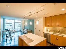 Home for sale at 35 E 100 South #709, Salt Lake City, UT  84111. Listed at 329900 with 1 bedrooms, 1 bathrooms and 854 total square feet