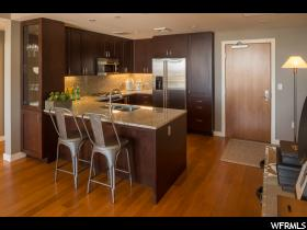 Home for sale at 99 W South Temple St #2405, Salt Lake City, UT  84101. Listed at 448000 with 1 bedrooms, 1 bathrooms and 941 total square feet