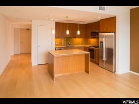 Home for sale at 35 E 100 South #1504, Salt Lake City, UT  84111. Listed at 528000 with 1 bedrooms, 1 bathrooms and 988 total square feet