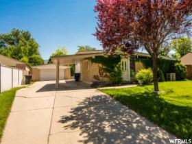 Home for sale at 4649 S Tina Way, Salt Lake City, UT  84107. Listed at 269900 with 4 bedrooms, 2 bathrooms and 1,710 total square feet
