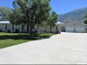 Home for sale at 245 E 400 North, Mona, UT  84645. Listed at 210000 with 4 bedrooms, 2 bathrooms and 1,743 total square feet
