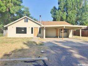 Home for sale at 55 N 600 East, Roosevelt, UT  84066. Listed at 140000 with 3 bedrooms, 2 bathrooms and 1,983 total square feet