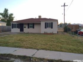 Home for sale at 5686 S 4580 West, Kearns, UT  84118. Listed at 169900 with 3 bedrooms, 1 bathrooms and 1,025 total square feet