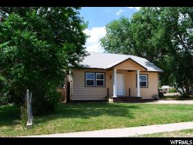 Home for sale at 232 S State St, Roosevelt, UT  84066. Listed at 99900 with 2 bedrooms, 1 bathrooms and 1,628 total square feet