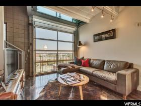 Home for sale at 360 W 300 South #605, Salt Lake City, UT  84101. Listed at 397500 with 2 bedrooms, 2 bathrooms and 733 total square feet