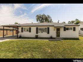 Home for sale at 4887 S 4860 West, Kearns, UT  84118. Listed at 198000 with 4 bedrooms, 2 bathrooms and 1,626 total square feet