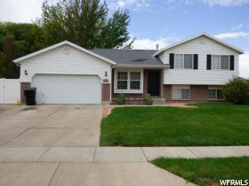 Home for sale at 1597 N 2530 West, Clinton, UT 84015. Listed at 245000 with 4 bedrooms, 3 bathrooms and 2,134 total square feet