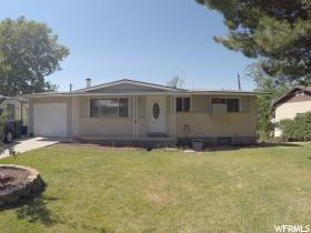 Home for sale at 4335 S 2450 West, Roy, UT  84067. Listed at 189900 with 4 bedrooms, 2 bathrooms and 1,878 total square feet