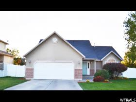 Home for sale at 2017 N 2595 West, Clinton, UT 84015. Listed at 239900 with 4 bedrooms, 3 bathrooms and 2,211 total square feet