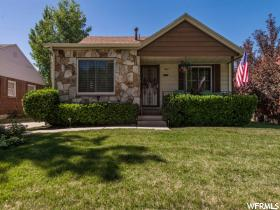 Home for sale at 1668 E Stratford, Salt Lake City, UT  84106. Listed at 375000 with 5 bedrooms, 2 bathrooms and 2,105 total square feet