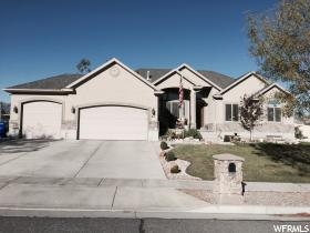 Home for sale at 45 S Cherry Blossom Ln, Grantsville, UT 84029. Listed at 344900 with 5 bedrooms, 4 bathrooms and 3,357 total square feet