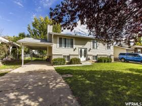 Home for sale at 842 S 1280 West, Clearfield, UT 84015. Listed at 194900 with 4 bedrooms, 3 bathrooms and 2,064 total square feet