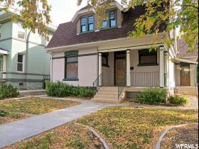 Home for sale at 130 N F St, Salt Lake City, UT  84103. Listed at 499000 with 4 bedrooms, 3 bathrooms and 3,147 total square feet