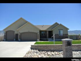 Home for sale at 4136 N Rose Springs Rd, Erda, UT  84074. Listed at 379900 with 6 bedrooms, 3 bathrooms and 3,142 total square feet