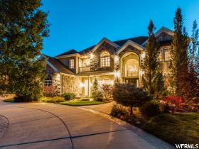 Home for sale at 383 W Primrose Ct, Farmington, UT  84025. Listed at 1590000 with 6 bedrooms, 6 bathrooms and 8,765 total square feet