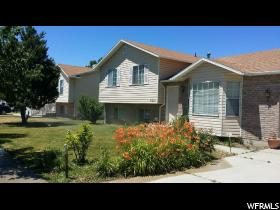 Home for sale at 4881 S Midland, Roy, UT 84067. Listed at 218000 with 4 bedrooms, 3 bathrooms and 1,672 total square feet
