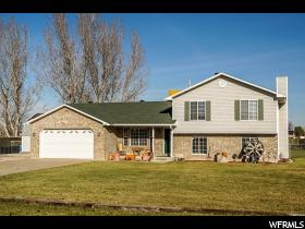 Home for sale at 5548 W 4350 South, Hooper, UT  84315. Listed at 314900 with 4 bedrooms, 3 bathrooms and 2,123 total square feet