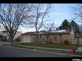 Home for sale at 6281 S 2525 West, Taylorsville, UT 84129. Listed at 269900 with 5 bedrooms, 3 bathrooms and 2,638 total square feet
