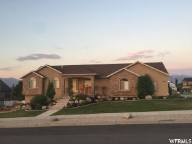 Home for sale at 14759 S Rose Point Dr, Herriman, UT 84096. Listed at 369900 with 5 bedrooms, 3 bathrooms and 3,222 total square feet