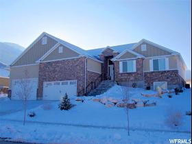 Home for sale at 6827 W Vista Springs  Dr, Herriman, UT  84096. Listed at 489900 with 3 bedrooms, 3 bathrooms and 4,137 total square feet