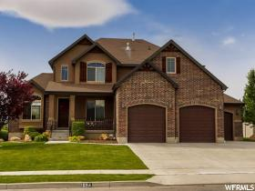 Home for sale at 1654 W Leola St, Kaysville, UT 84037. Listed at 524900 with 6 bedrooms, 4 bathrooms and 4,120 total square feet