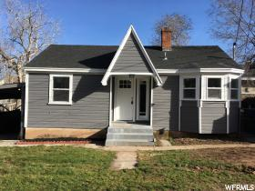 Home for sale at 3471 Grant Ave, Ogden, UT  84401. Listed at 104900 with 2 bedrooms, 1 bathrooms and 1,011 total square feet