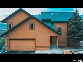 Home for sale at 425 Jungfrau Hill Rd, Midway, UT 84049. Listed at 866000 with 4 bedrooms, 5 bathrooms and 5,156 total square feet