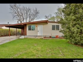 Home for sale at 752 E 1100 North, Ogden, UT  84404. Listed at 130000 with 3 bedrooms, 1 bathrooms and 1,037 total square feet
