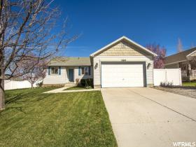 Home for sale at 13659 S Barrel Ct, Herriman, UT 84096. Listed at 319900 with 5 bedrooms, 2 bathrooms and 2,556 total square feet