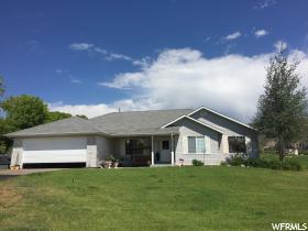 Home for sale at 8312 W Deep Creek Rd, Vernal, UT 84078. Listed at 549000 with 3 bedrooms, 3 bathrooms and 1,969 total square feet