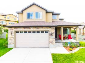 Home for sale at 7593 N Mesa Vista Cir, Eagle Mountain, UT  84005. Listed at 327000 with 5 bedrooms, 4 bathrooms and 2,589 total square feet