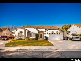 Home for sale at 147 N 1210 West, St. George, UT 84770. Listed at 289900 with 3 bedrooms, 2 bathrooms and 1,426 total square feet