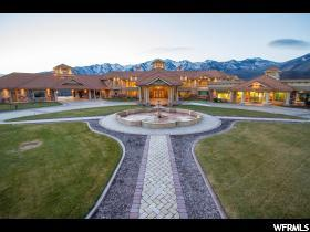 Home for sale at 8272 E Left Hand Fork Hobble Crk, Springville, UT 84663. Listed at 29950000 with 6 bedrooms, 12 bathrooms and 49,568 total square feet