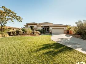 Home for sale at 2082 N Canyon Greens Cir, Washington, UT 84780. Listed at 529000 with 4 bedrooms, 4 bathrooms and 2,849 total square feet