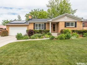 Home for sale at 2021 E Sands Dr, Salt Lake City, UT  84124. Listed at 600000 with 4 bedrooms, 2 bathrooms and 2,368 total square feet