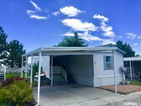 Home for sale at 5075 W 4700 South #185, West Valley City, UT  84128. Listed at 36500 with 2 bedrooms, 2 bathrooms and 800 total square feet