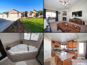 Home for sale at 3836 W Salinas Dr, Riverton, UT 84065. Listed at 450000 with 7 bedrooms, 4 bathrooms and 3,304 total square feet