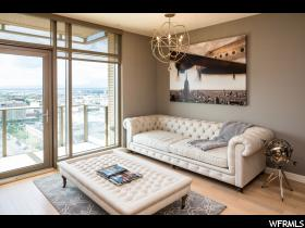 Home for sale at 99 W South Temple St #1703, Salt Lake City, UT  84101. Listed at 365000 with  bedrooms, 1 bathrooms and 634 total square feet