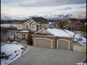 Home for sale at 5709 W Sandy Stone Cir, South Jordan, UT 84095. Listed at 525000 with 5 bedrooms, 4 bathrooms and 3,868 total square feet