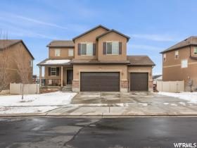 Home for sale at 7776 N Brookwood Dr, Eagle Mountain, UT  84005. Listed at 365000 with 5 bedrooms, 4 bathrooms and 2,620 total square feet